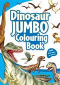 Livro Colorir Dinossauros Jumbo