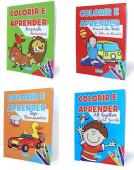 Livro Colorir e Aprender Bilingue Sortido