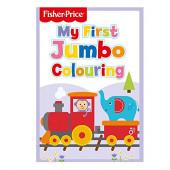 Livro Colorir Fisher Price - O Meu Primeiro Livro de Colorir Jumbo