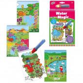 Livro Colorir Galt Water Magic Animais