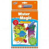Livro Colorir Galt Water Magic Dinossauros