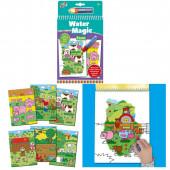 Livro Colorir Galt Water Magic Quinta