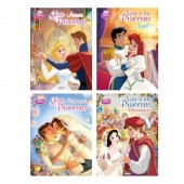 Livro Colorir sortido Casamento Princesas Disney
