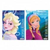 Livro Jogos Disney Frozen