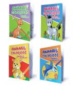 Livro Pintar Animais Coloridos Sortido