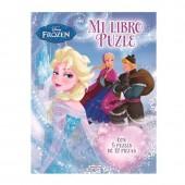 Livro Puzzle Frozen