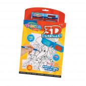 Livro Trabalhos Manuais 3D Colorino