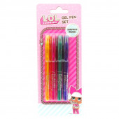 LOL Surprise Pack 4 canetas gel