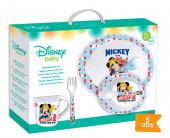 Louça para Microondas Baby Mickey 5 unid