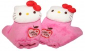 Luvas hello kitty pelucia