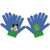 Luvas Mickey azul e verde