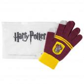 Luvas Táteis Harry Potter Gryffindor