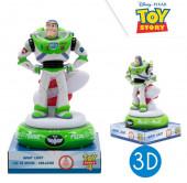 Luz Presença Figura 3D Buzz Lightyear Toy Story