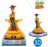 Luz Presença Figura 3D Woody Toy Story