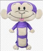 Macaco Peluche -  Panda Seat Pets