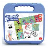 Mala Dominó Animais 28 peças Colouring Activities