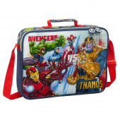 Mala Extra Escolar Avengers Heroes vs Thanos 38cm