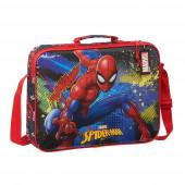 Mala Extra Escolar Spiderman Go Hero 38cm