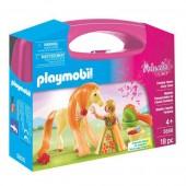 Mala grande Princesa com cavalo Playmobil