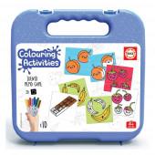 Mala Identic 20 peças Memo Games Colouring Activities