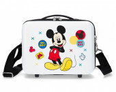 Mala Necessaire ABS Disney Adap Trolley Mickey Mouse