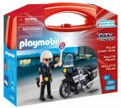 Mala Policial Playmobil City Action - 5648