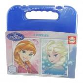 Mala puzzles Frozen 20x2 pcs