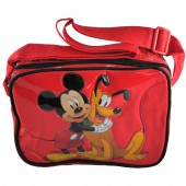 Mala tiracolo Mickey & Pluto Red