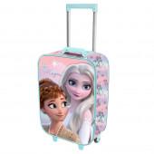 Mala Trolley Viagem 3D Frozen 2 Be Magic 47cm
