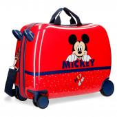 Mala Trolley Viagem ABS 50cm Mickey Happy