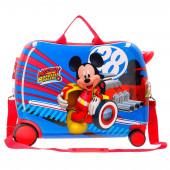 Mala Trolley Viagem ABS 50cm Mickey Super Pilotos
