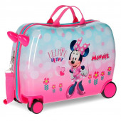 Mala Trolley Viagem ABS 50cm Minnie Helping Heart