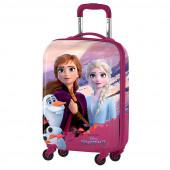 Mala Trolley Viagem ABS 51cm Frozen Dream of Magic Rosa