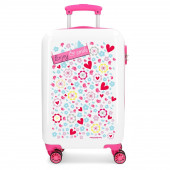 Mala Trolley Viagem ABS 55cm Enjoy and Smile