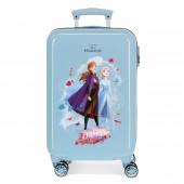 Mala Trolley Viagem ABS 55cm Frozen 2 Destiny is Calling