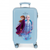 Mala Trolley Viagem ABS 55cm Frozen 2 Nature is Magical