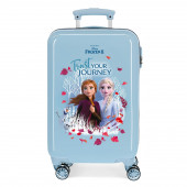 Mala Trolley Viagem ABS 55cm Frozen 2 Trust Your Journey