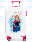 Mala Trolley Viagem ABS 55cm Frozen Dream of Magic Branca