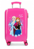 Mala Trolley Viagem ABS 55cm Frozen Dream of Magic Rosa