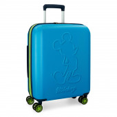 Mala Trolley Viagem ABS 55cm Mickey Colored Azul