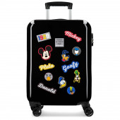 Mala Trolley Viagem ABS 55cm Mickey Have a Good Day Preto