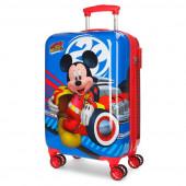 Mala Trolley Viagem ABS 55cm Mickey Super Pilotos