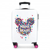 Mala Trolley Viagem ABS 55cm Minnie Magic Hearts