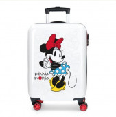 Mala Trolley Viagem ABS 55cm Minnie Magic