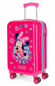 Mala Trolley Viagem ABS 55cm Minnie Super Helpers