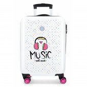 Mala Trolley Viagem ABS 55cm Music