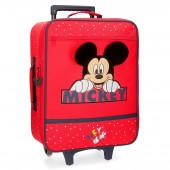 Mala Trolley Viagem Mickey Happy 50cm