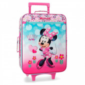 Mala Trolley Viagem Minnie Helping Heart 50cm