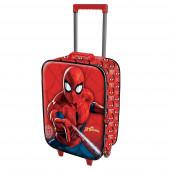 Mala Trolley Viagem Spiderman Spiderweb 52cm