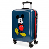 Mala viagem Trolley 55 cm ABS Mickey Blue